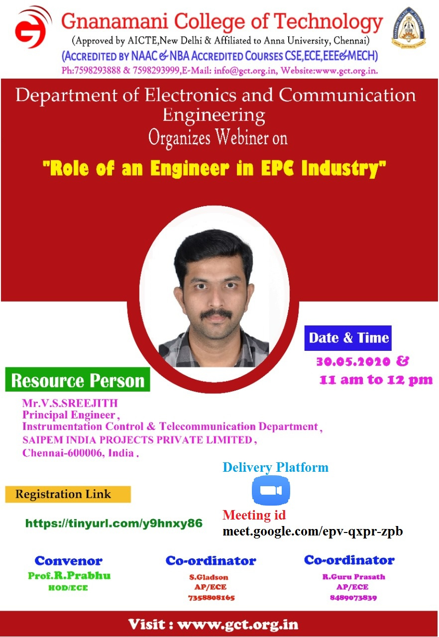 Role of an Engineer in EPC Industry 2020
